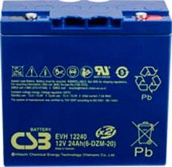 Аккумулятор для ИБП CSB EVH12240 (12В/24 А·ч)