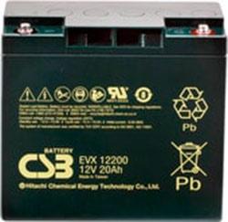 Аккумулятор для ИБП CSB EVX12200 (12В/20 А·ч)