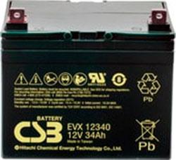 Аккумулятор для ИБП CSB EVX12340 (12В/34 А·ч)