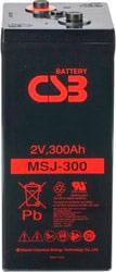 Аккумулятор для ИБП CSB MSJ300 (2В/305 А·ч)