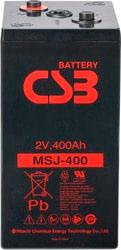 Аккумулятор для ИБП CSB MSJ400 (2В/439 А·ч)