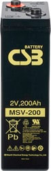 Аккумулятор для ИБП CSB MSV200 (2В/200 А·ч)