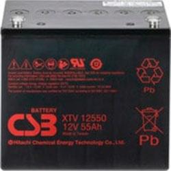 Аккумулятор для ИБП CSB XTV12550 (12В/55 А·ч)