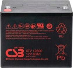 Аккумулятор для ИБП CSB XTV12800 (12В/80 А·ч)