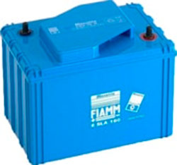 Аккумулятор для ИБП FIAMM 6SLA160 (6В/160 А·ч)