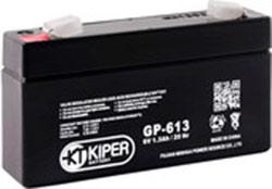 Аккумулятор для ИБП Kiper GP-613 F1 (6В/1.3 А·ч)