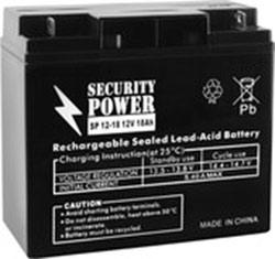 Аккумулятор для ИБП Security Power SP 12-18 (12В/18 А·ч)