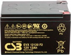 Аккумулятор для ИБП CSB EVX12120 F2 (12В/12 А·ч)