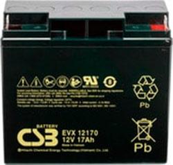 Аккумулятор для ИБП CSB EVX12170 (12В/17 А·ч)