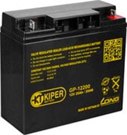 Аккумулятор для ИБП Kiper GP-12200 (12В/20 А·ч)