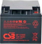 Аккумулятор для ИБП CSB GP12400 (12В/40 А·ч)