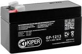 Аккумулятор для ИБП Kiper GP-1213 F1 (12В/1.3 А·ч)