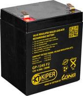 Аккумулятор для ИБП Kiper GP-1245 F2 (12В/4.5 А·ч)