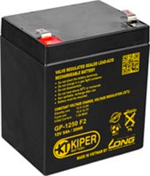 Аккумулятор для ИБП Kiper GP-1250 F2 (12В/5 А·ч)