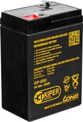 Аккумулятор для ИБП Kiper GP-650 F1 (6В/5 А·ч)