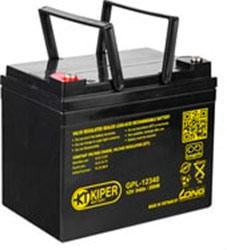 Аккумулятор для ИБП Kiper GPL-12340 (12В/34 А·ч)