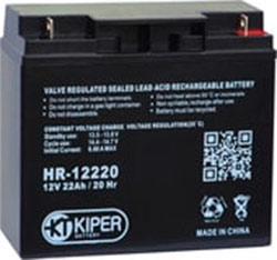 Аккумулятор для ИБП Kiper HR-12220 (12В/22 А·ч)