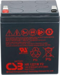 Аккумулятор для ИБП CSB HR1221W F2 (12В/5 А·ч)