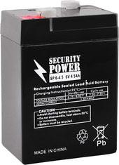Аккумулятор для ИБП Security Power SP 12-5 F1 (12В/5 А·ч)