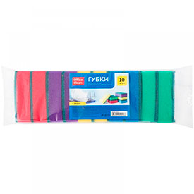 Губки для посуды OfficeClean Maxi 9*6,5*2,7см