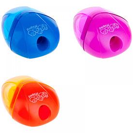 Точилка пластиковая Maped I-Gloo, 1 отверстие, контейнер, ассорти