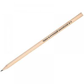 Карандаш чернографитный Русский карандаш М (B), заточенный