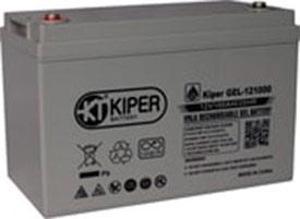 Аккумулятор для ИБП Kiper GEL-121000 (12В/100 А·ч)