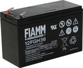 Аккумулятор для ИБП FIAMM 12FGH36 (12В/9 А·ч)