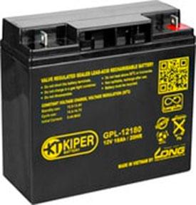 Аккумулятор для ИБП Kiper GPL-12180 (12В/18 А·ч)