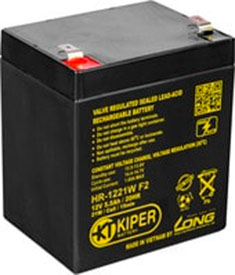 Аккумулятор для ИБП Kiper HR-1221W F2 (12В/5.5 А·ч)