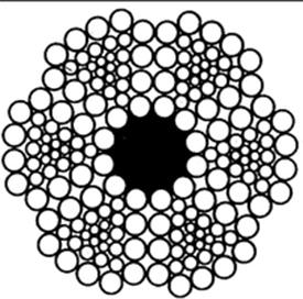 Трехграннопрядный канат 6x30(6+12+12)+1о.с. ГОСТ 3085-88