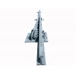 Рамный рельс с остряком Р-50 1/9, 1/11 полустрелка в полной комплектации
