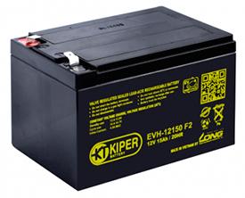 Аккумуляторная батарея Kiper EVH-12150 F2 12V/15Ah