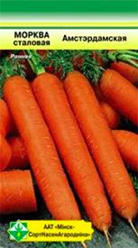 Морковь столовая Амстердамская