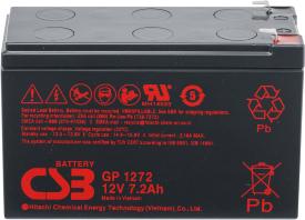 Аккумулятор для ИБП CSB GP1272 (12В/7.2 А·ч)