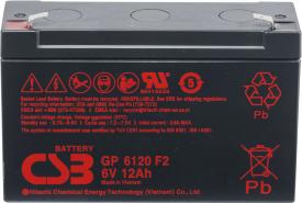 Аккумулятор для ИБП CSB GP6120 (6В/12 А·ч)