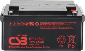 Аккумулятор для ИБП CSB GP12650 (12В/65 А·ч)