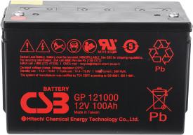 Аккумулятор для ИБП CSB GP121000 (12В/100 А·ч)