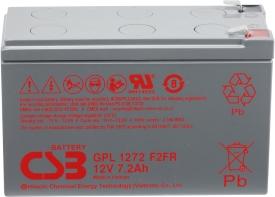 Аккумулятор для ИБП CSB GPL1272 F2FR (12В/7.2 А·ч)