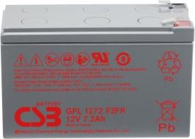 Аккумулятор для ИБП CSB GPL1272 (12В/7.2 А·ч)