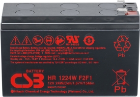 Аккумулятор для ИБП CSB HR1224W F1 (12В/6.4 А·ч)