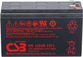 Аккумулятор для ИБП CSB HR1224W F2 (12В/6.4 А·ч)