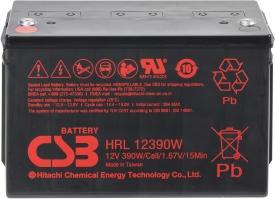 Аккумулятор для ИБП CSB HRL12390W (12В/100 А·ч)