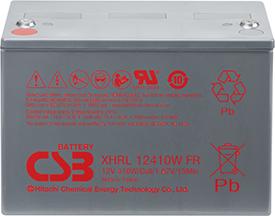 Аккумулятор для ИБП CSB XHRL12410W (12В/110 А·ч)