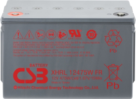 Аккумулятор для ИБП CSB XHRL12475W (12В/120 А·ч)