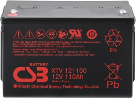 Аккумулятор для ИБП CSB XTV121100 (12В/110 А·ч)