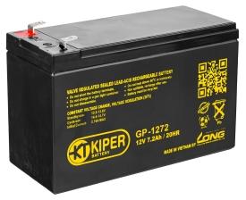 Аккумулятор для ИБП Kiper GP-1272 F1 (12В/7.2 А·ч)