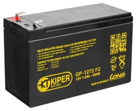 Аккумулятор для ИБП Kiper GPL-1272 F2 (12В/7.2 А·ч)