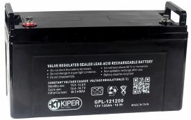 Аккумулятор для ИБП Kiper GPL-121200 (12В/120 А·ч)
