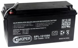 Аккумулятор для ИБП Kiper GPL-121500 (12В/150 А·ч)
